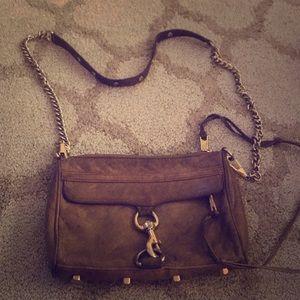Rebecca Minkoff cross body beige/ brown bag